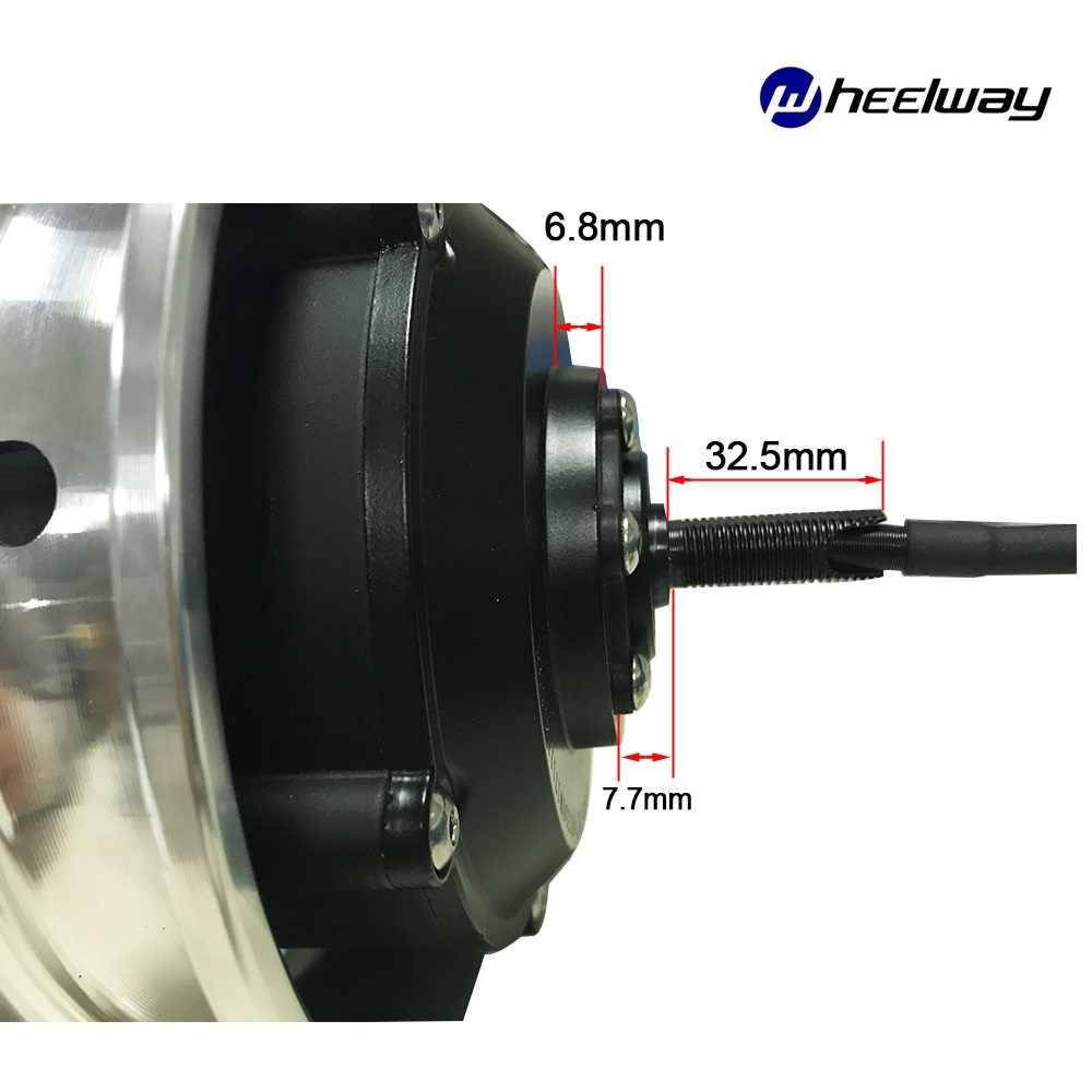 10 pouces 36V48V 250W 350W moteur de moyeu électrique couple élevé électrique sans brosse brouette engrenage hub moteur électrique robot moteur