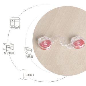 6 шт/лот; Защитное устройство для детей с ящиком блокировки ограничитель для выдвижных ящиков защелки шкафа защиты безопасности Невидимые замки