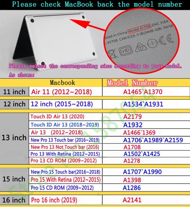 Image 5 - Drukowanie w kolorze kwiatowym etui na notebooka Macbook Air 11 13 Pro Retina 12 13 15 calowe kolory pasek dotykowy nowy Pro 13 15 nowe powietrze 13Torby i etui na laptopy   -