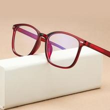 Transparent Glasses Frame Clear-Lens Fake Vintage Optical-Computer Retro Women Blue Pink