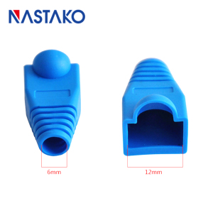 Image 5 - Nastako Cat5 Cat5e Cat6 RJ45 Connector Cap Cover Boot RJ45 Ethernet Kabel Connector Netwerk Modulaire Plug Laarzen 6.0 Mm Kleurrijke
