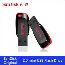 Sandisk Stick 128gb 64gb 32gb 16gb Mini USB-Stick 32 64 128 16 GB Stift stick 2,0 USB Stick Disk on Key Memory für Telefon