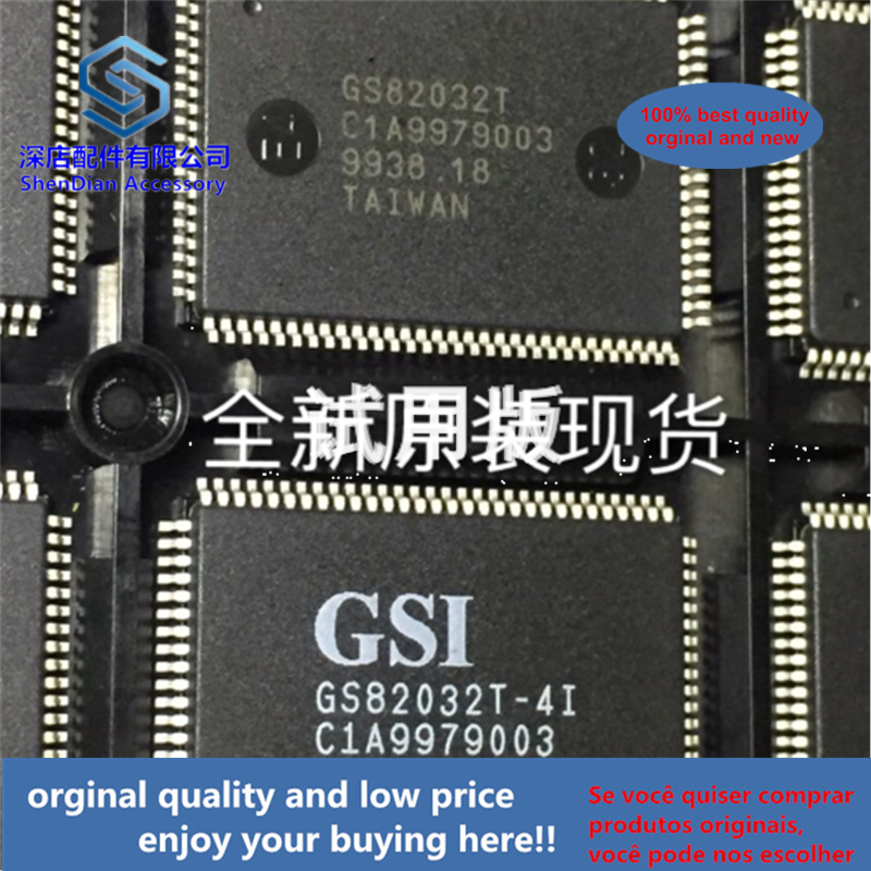 1pcs 100% Quality Orginal New GSI GS82032T-4I QFP100 GS82032T-41 Best Qualtiy