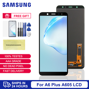 For Samsung Galaxy A6 plus 2018 A605 LCD Display Touch Screen Digitizer Assembly For Samsung A6 plus A605 A605F A605FN A605G