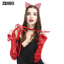 Hot Sex toys for woman Erotic Accessories Kids Black Cat Ears Fashion Lady Girl Head Bands Hairband Sexy Headband