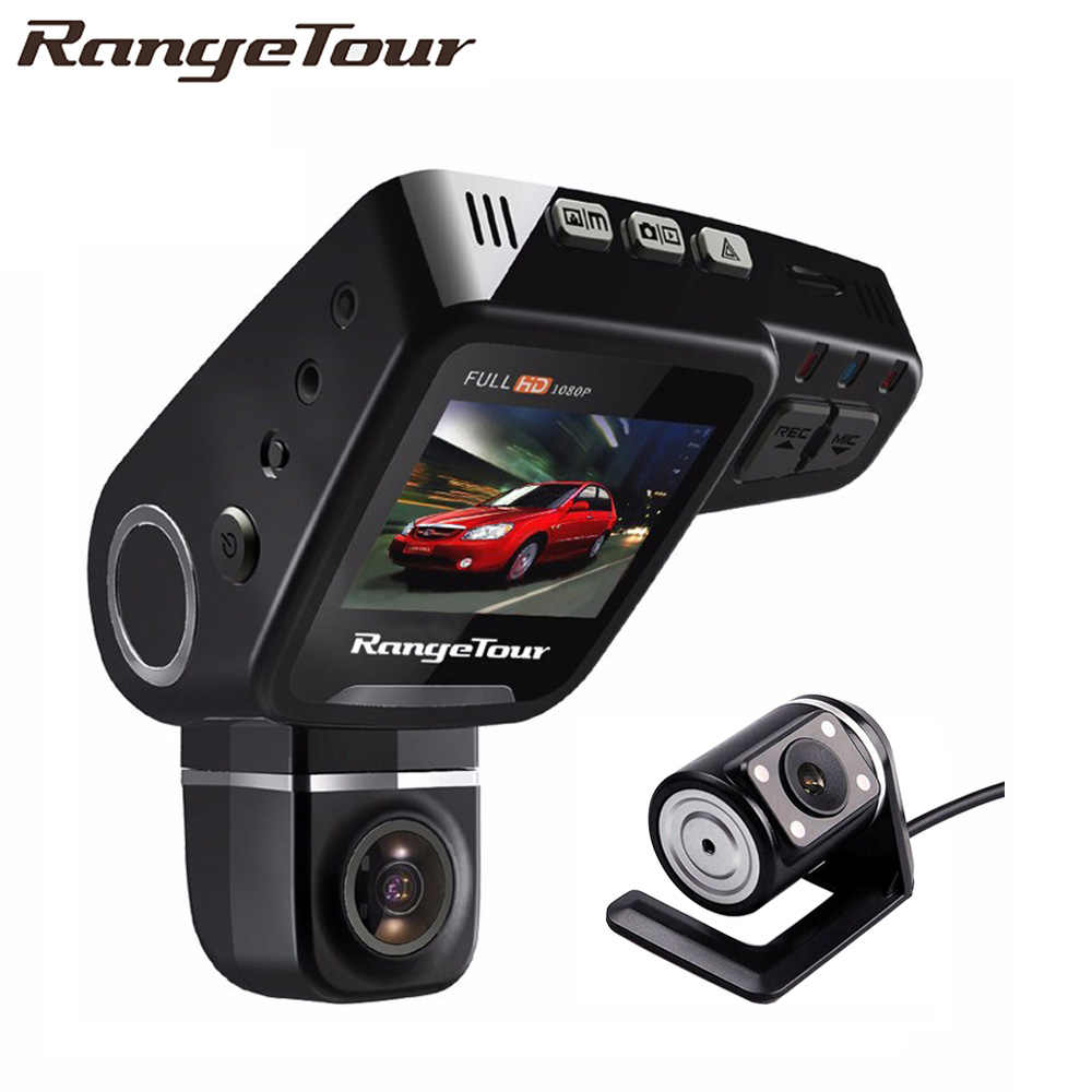 Dual Lens Auto DVR C10s Plus Dashboard Camera Full HD 1080P Dash Cam Nachtzicht 2 Inch LCD Video recroder Camcorder