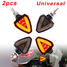 2pcs Motorcycle LED Turn Signal Light Indicator Universal Riding Blinker 12V Set Luminous Lamps Replacement Bulbs(China)