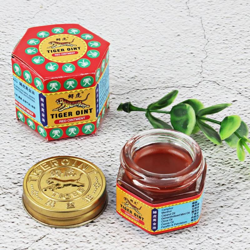 100% Original Tiger Balm Ointment Insect Bite Strength Pain Muscle Relieving Arthritis Joint Body Pain Thailand Painkiller Balm