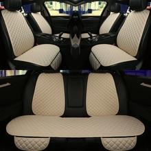 5 ที่นั่งรถที่นั่งครอบคลุมชุด Universal Fit รถยนต์ส่วนใหญ่ที่นั่ง Protector กับพนักพิงรถยนต์เบาะรองนั่งสำหรับรถบรรทุก
