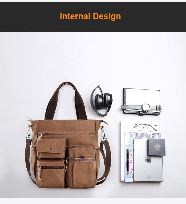 Hae2e0db342924d6493ad1d91051c9f20g Jorgeolea Men Canvas Business Briefcase Versatile Casual Handbag For Men Travel Satchel E502
