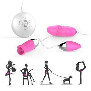 Эротический аксессуар, секс-игрушки для женщин, пар, вибратор для точки G, прыгающие яйца, вибраторы, Стимулятор клитора, мастурбатор для нач...