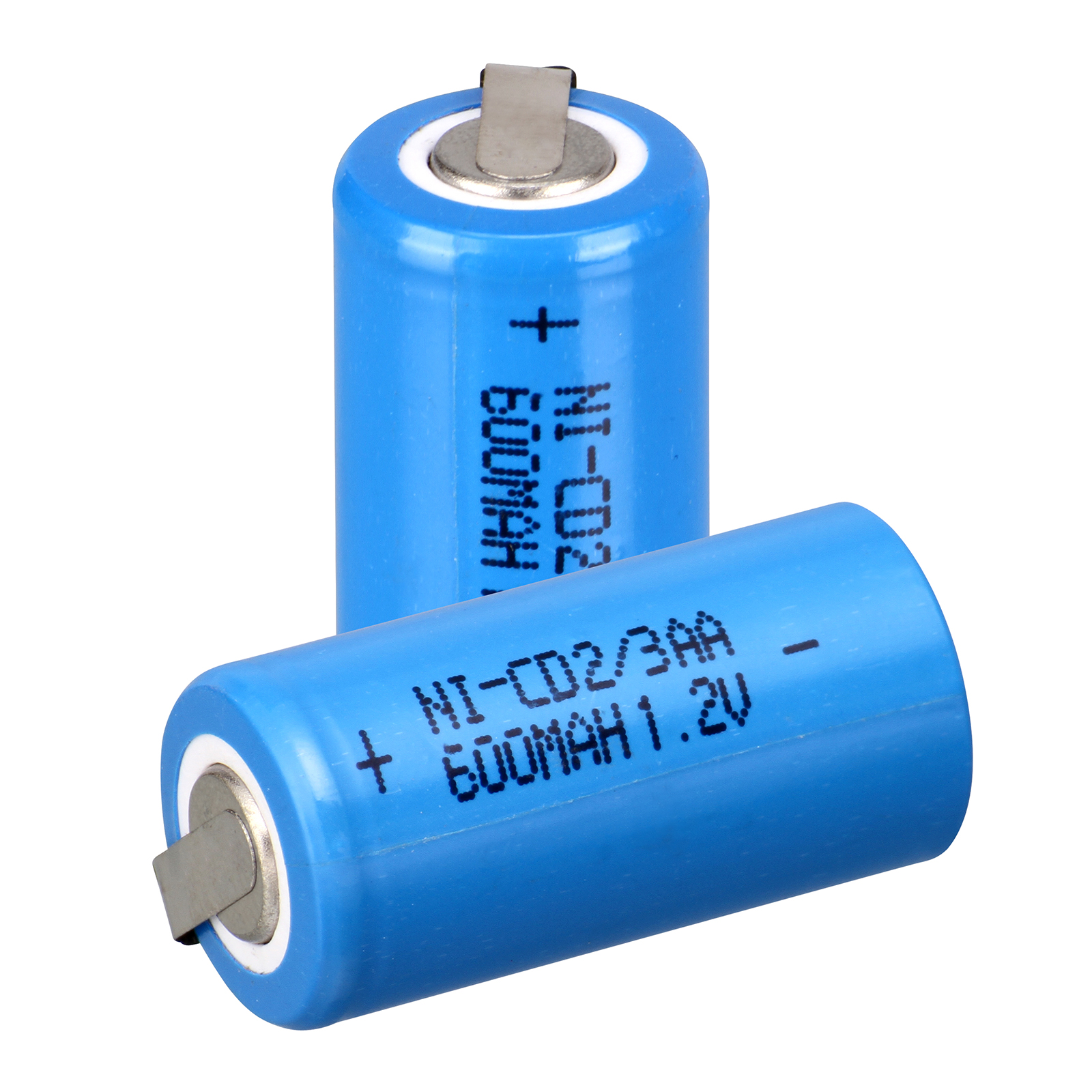 2pcs 2/3 AA nicd 1.2V Battery 600mAh <font><b>ni</b></font> <font><b>cd</b></font> <font><b>Ni</b></font>-<font><b>CD</b></font> Rechargeable Battery <font><b>1.2</b></font> <font><b>V</b></font> blue color image