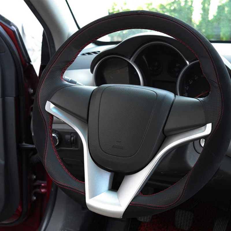 2020 yeni yeni varış direksiyon kalıp kapağı Trim etiket ekle için Chevrolet Cruze Trax Tracker