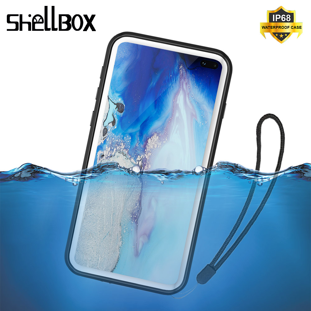 IP68 Water Proof Phone Case For Samsung Galaxy S10 Plus S10 S9 Note 8 9 Waterproof Case Full Protect Underwater Diving Fundas Fitted Cases     - title=