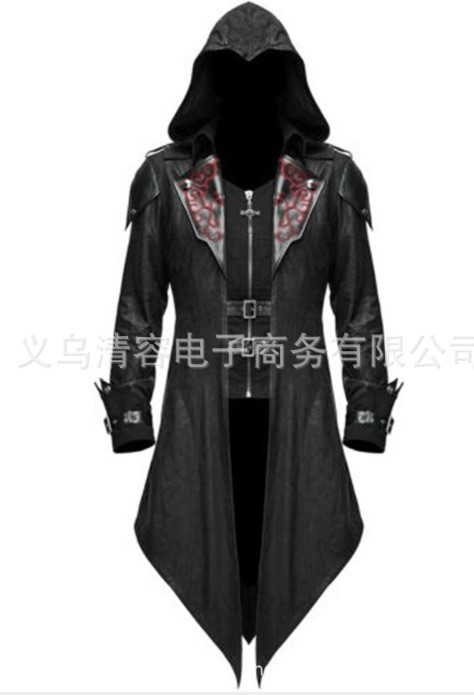 Ancient Civilizations Egypt Assassin's Creed Actor COS Costume Medieval Halloween Retro Performance Joint Coat