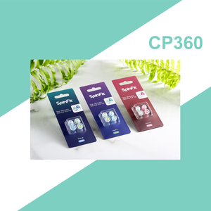 Image 5 - DUNU SpinFit CP360 Silicone Eartips for True Wireless Bluetooth Earphone CP 360 1Card with 2pcs(Small/Extra Small)