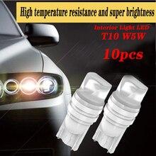 10pcs New For Suzuki Swift Bmw F10 X5 E70 E30 F20 E34 E91 Volvo XC90 S60 V40 S80 Car Interior T10 Led Turn Side Brakr Lamp