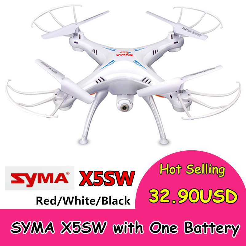 SYMA X5SW RC Drone with WiFi Camera 4CH 6 Axis Gyro Quadcopter Helicopter professional dron toys