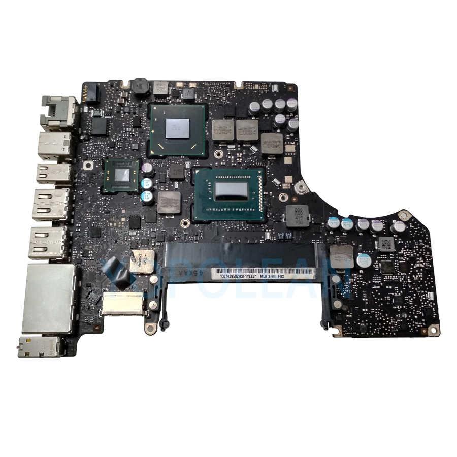 """Oryginalna płyta główna i5 2.5GHz i7 2.9GHz dla Macbook Pro 13 """"płytka logiczna A1278 EMC 2554 820-3115-B połowa 2012 MD101 MD102"""
