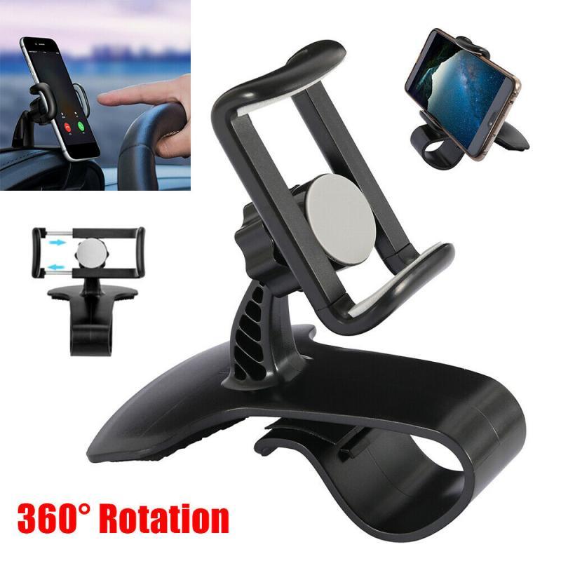 Универсальный держатель для мобильного телефона, GPS, автомобильный держатель для приборной панели, подставка для телефона, Hud, зажим на колы...