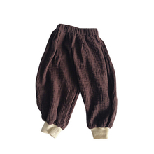 2019 New Children Baby Cotton Comfortable Pants Warm Spring Autumn Solid Pants Fashion Korean Version Kids Clothing High Quality недорого