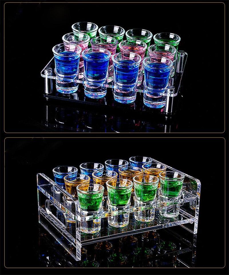 1 шт. стеклянная маленькая стеклянная чашка для ликера и духов стеклянная рюмка для водка; Вино пивной, коктейльный стакан для свадьбы