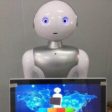 Робот развивающий проект интеллект банк лобби менеджер сервис робот