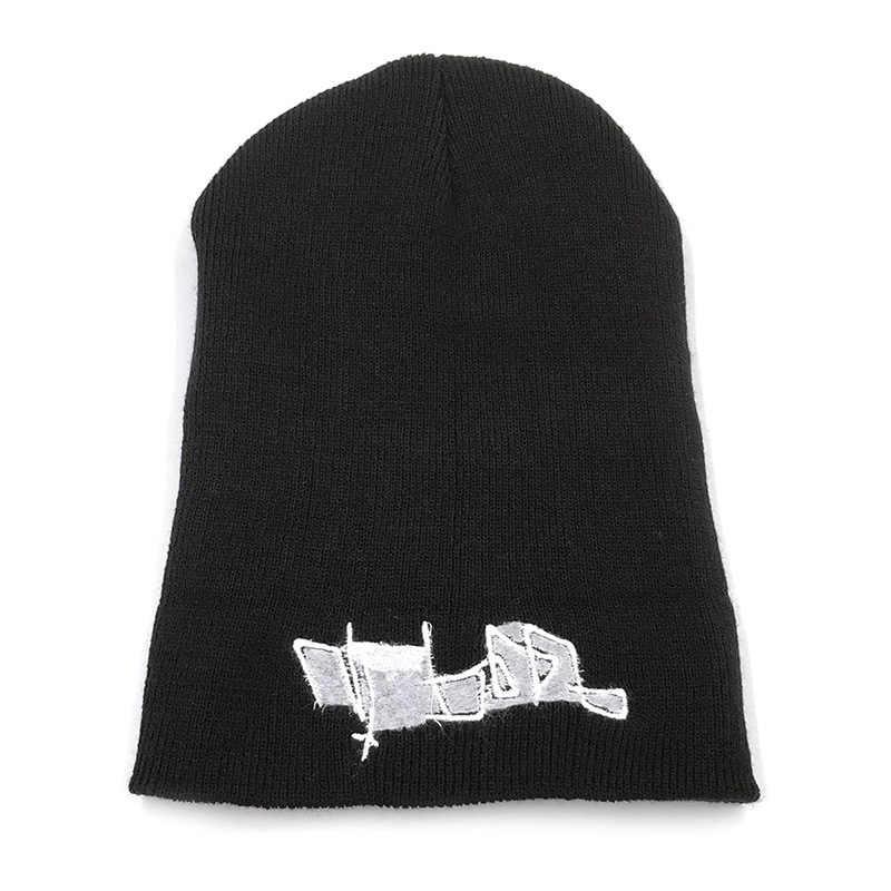 Lil اللمحة قبعة قبعة التطريز الحب ليل اللمحة الرجال النساء قبعة منسوجة محبوك قبعة Skullies شتاء دافئ قبعة محزن بوي الوجه قبعات منسوجة