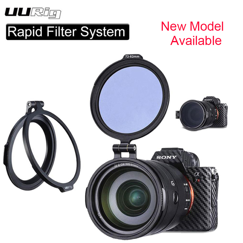 NEW UURig RFS ND Filter Rapid Filter System Quick Release Flip Bracket Lens Flip Mount For Sony Nikon DSLR Camera Accessories