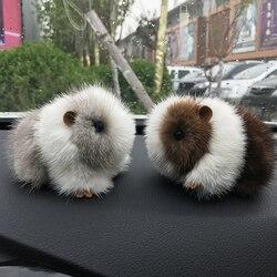 New mink fur hamster doll bag pendant fashion cute hamster bunny pendant key chain