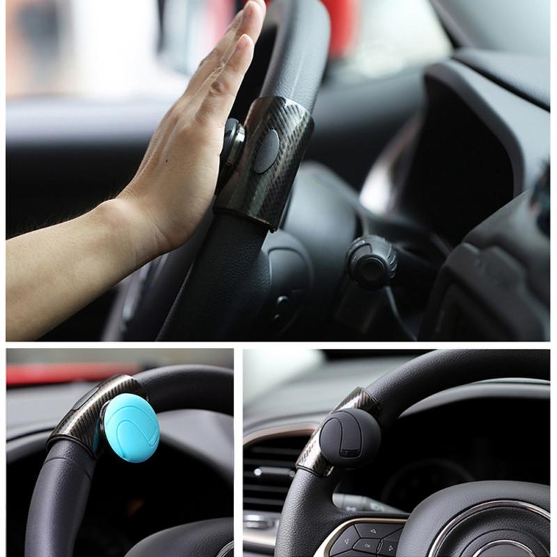 Hae30a7536e344610a2d7b7c1938f507em - 360° Steering Wheel Knob Ball Car Steering Wheel Spinner Knob Power Handle Ball Booster Wheel Strengthener Auto Spinner Knob