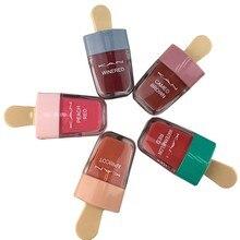 KAN marka 5 renk dudak parlatıcısı su geçirmez uzun ömürlü makyaj sıvı ruj güzel dudak tonu kozmetik