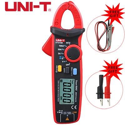 True RMS UNI-T UT210A/B/C/D/E mini multimeter digital clamp multimeter dc voltimetro amperimertro UNI T UT 210E dc clamp meter