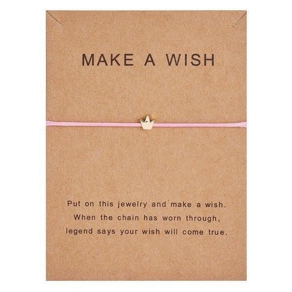 10*7,5 см Загадай перец узкое платье тканые регулируемый браслет Модные украшения подарок для Для женщин, Для мужчин, для детей - Окраска металла: BR18Y0391-3