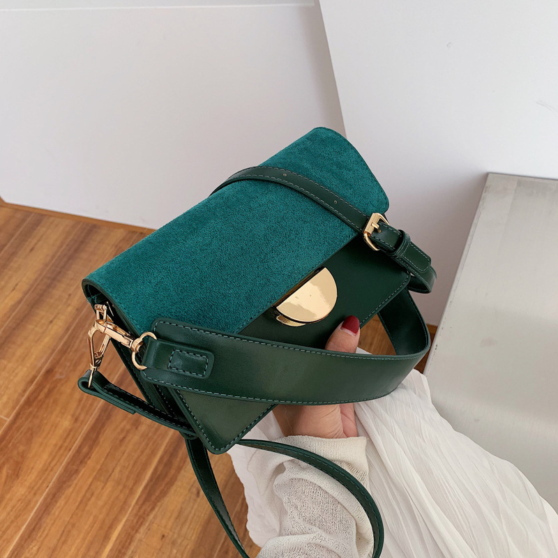 Vintage Female Square Bag New High Quality Matte PU Leather Women's Designer Handbag Lock Ladies Shoulder Messenger Bags