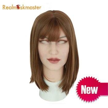 Realmaskmaster silikon Ann maske künstliche realistische haut maske für crossdresser transgender männlichen transen Drag Queen latex sexy