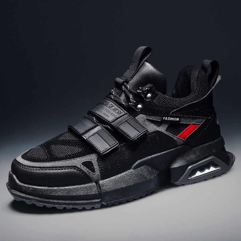 Men Casual Shoes Fashion Sneakers For Man 2019 New Men's Shoes Adult Outdoor Trend Men's Leisure Shoes Flats Zapatillas Hombre