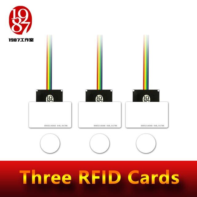 Rfid小道具部屋脱出冒険ゲーム小道具rfid小道具置く 4 icカード 1 の関係を解除するとオーディオJXKJ1987