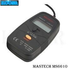 MASTECH MS6610 Высокая точность 0~ 50, 000LUX цифровой Люксметры Illuminometers с отдельным фотодетектор