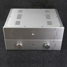Brzhifi bz4310 série caixa de alumínio para amplificador de potência