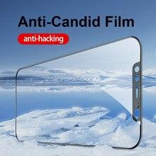 Ellie 0.3mm Matte Anti-Spy Anti-szczery film Anti-hacking ochraniacz ekranu dla iPhone