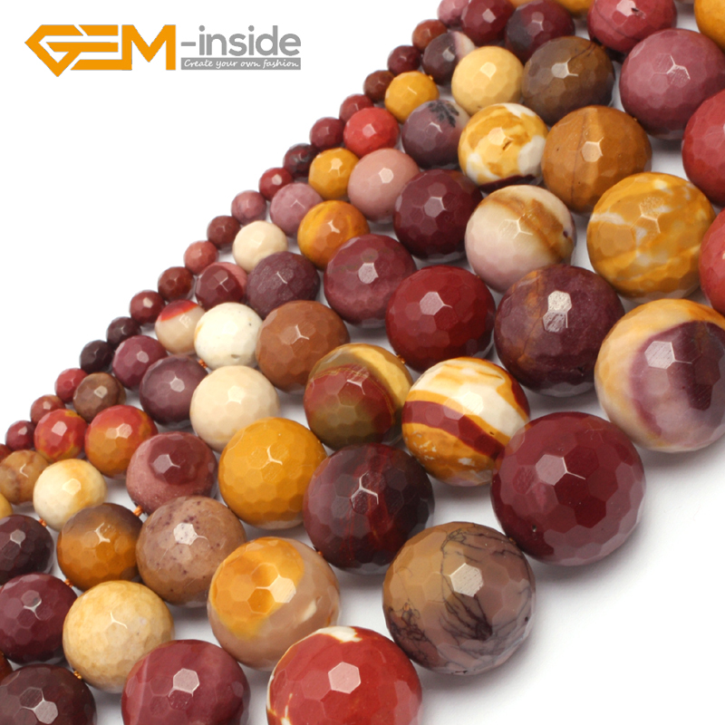 Mookaite Jasper Loose Bead Bead Making Accessories