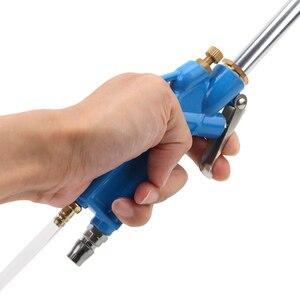 Image 5 - Pistola ad acqua del motore dello strumento di pulizia pneumatico della pressa alta con gli strumenti del pulitore dellolio del motore dellautomobile del tubo flessibile 40cm di 100cm