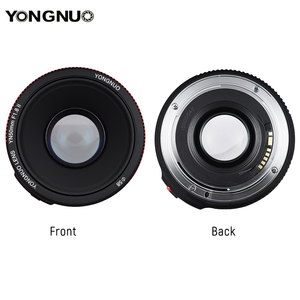 Image 5 - YONGNUO YN50mm F1.8 II Standard Prime Lens Large Aperture Auto Focus 0.35 Closest Focal Length for Canon EOS 5DII 5DIII 5DS 5DSR