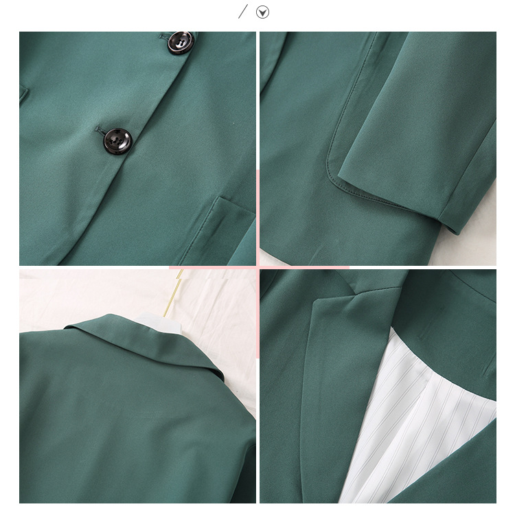 Fashion Plus Size Women's Blazer 2020 new spring and autumn high quality single-breasted women's jacket Loose suit feminine