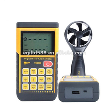 TM856D LCD Digital Anemometer Wind Meter Air Tester USB Scales Soft Outdoor Storage Type Wind Speed Meter стоимость