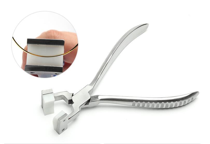 Nose Plier Tool Jewelry Repair Bracelet Forming Spring Bending Nylon Ring Plier Tools FOR Jewelry Repair