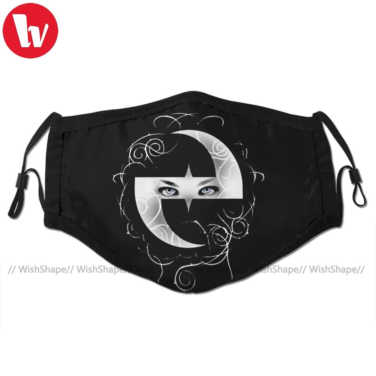 Filtros para Adulto Legal com 2 Evanescence Boca Máscara Facial Moda