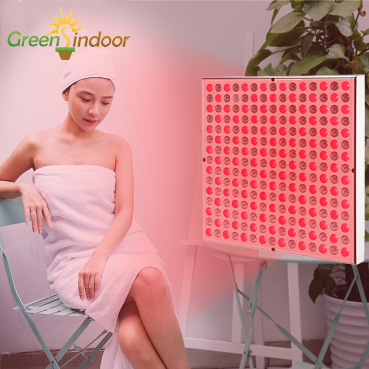 LED Red Light Therapy Lamp Near Infrared Led Panel 660nm 850nm For Skin Pain Relief Face Body Heater Heating Health Care Lights