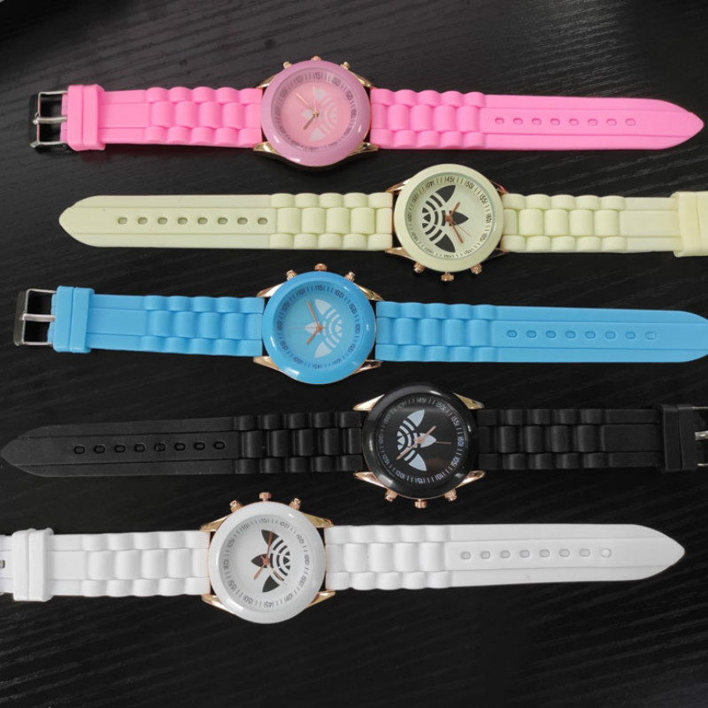 Fashion Women's Watches Ins Trend Candy Color Wrist Watch Korean Silicone Jelly Watch Reloj Mujer Clock Gifts For Women